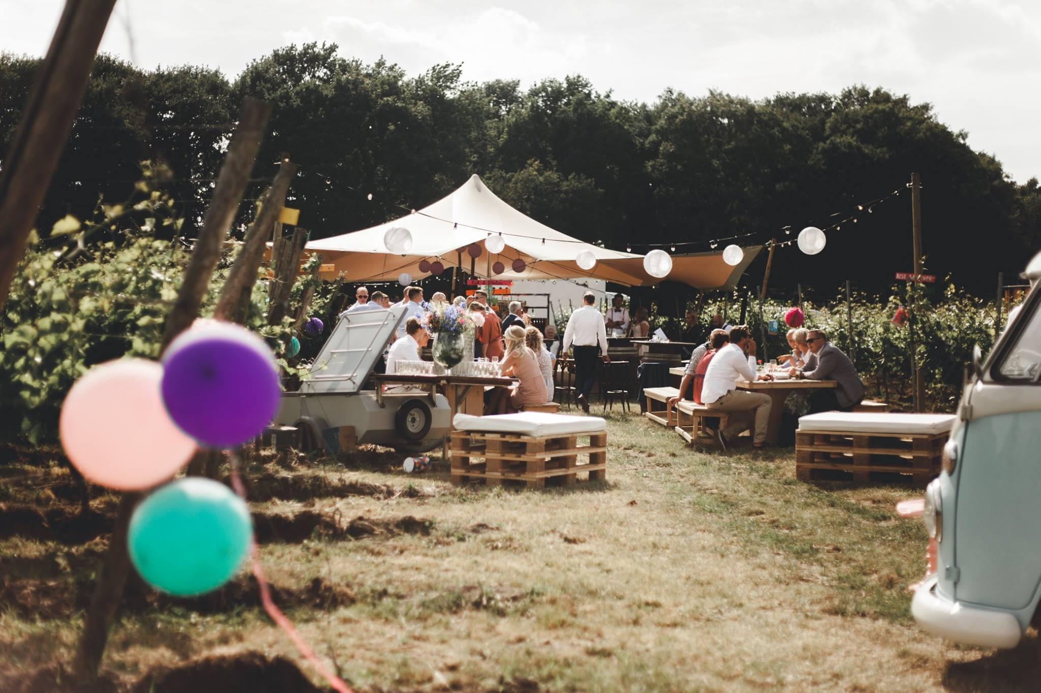 Wedding - Trouwen - Bruiloft - Huwelijk - Festival- uniek - op locatie - Boenders Catering